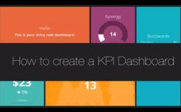 如何制定创业公司KPI Dashboard (关键指标看板)