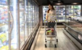 亿猫智能购物车携手苏果超市,共同打造智慧新零售