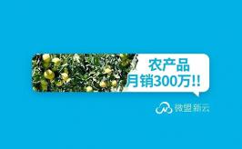 """月销300W+,7天吸粉5500+,农产品如何借力小程序电商""""走出来""""?"""