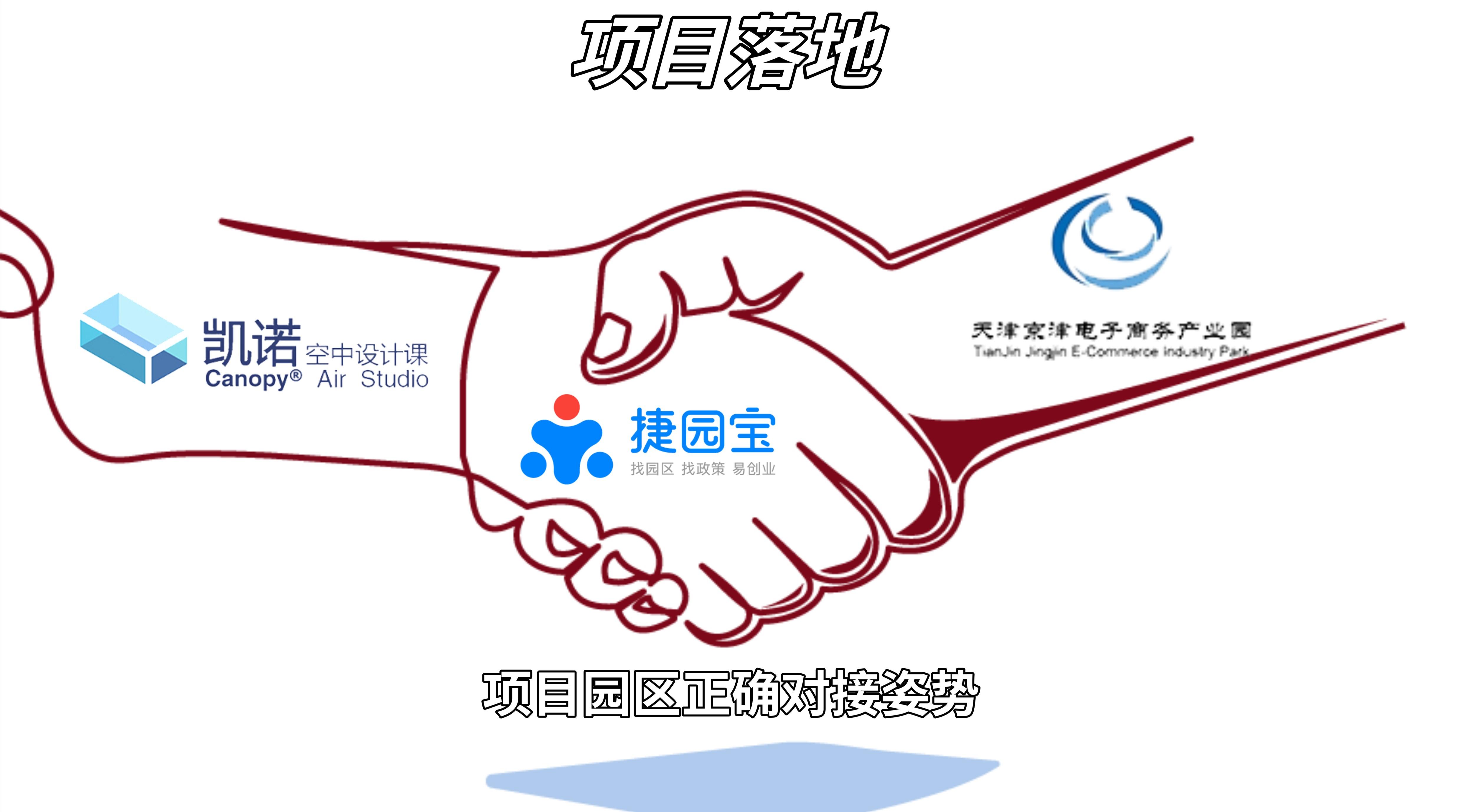 凯诺教育科技(天津)有限公司成功落地天津京津电子商务产业园!
