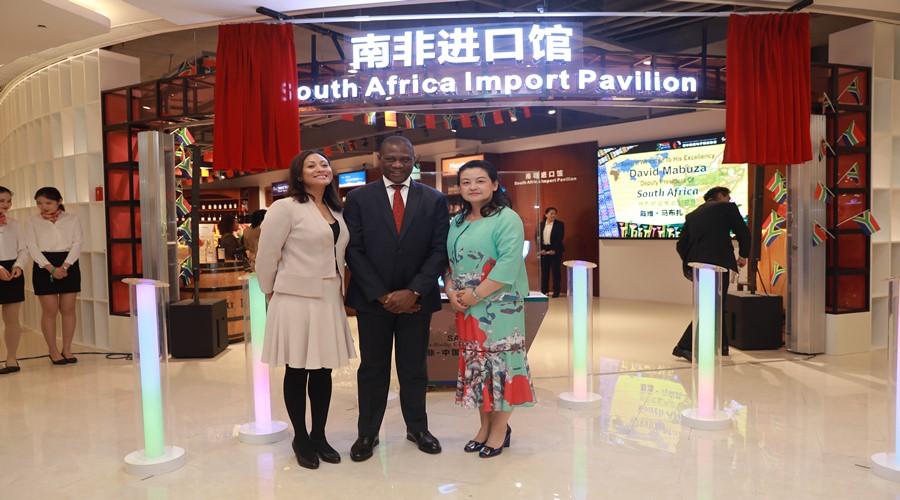 南非国家进口馆落户有赞,除了红酒牛肉,未来还要卖钻石?