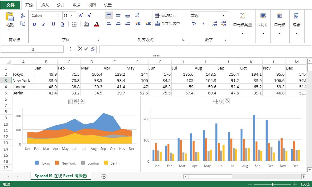 SpreadJS 纯前端表格控件应用案例:资料填报系统