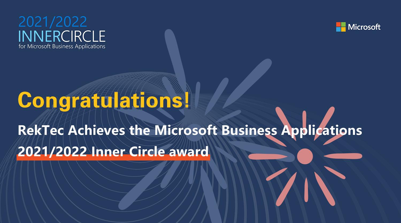 重磅!瑞泰信息荣获2021/2022微软全球 Inner Circle 大奖,中国区唯一