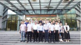 中交协电商物流产业分会常务副会长律景昌一行莅临钢银电商考察